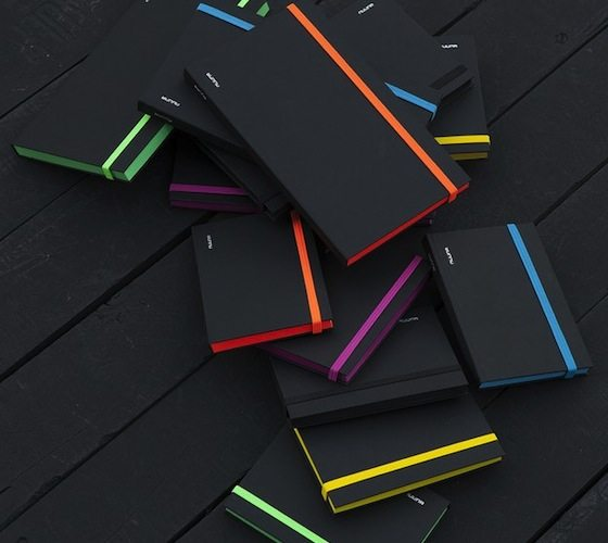 Black Punk Notebooks – Bright Colored Small Sized Notebooks