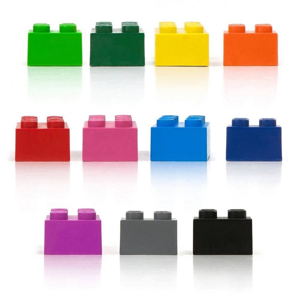 Building Block Crayons by Fred & Friends