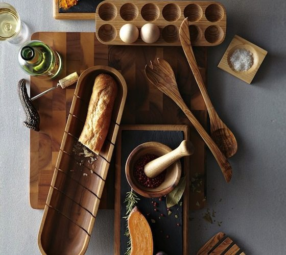 French Bread Tray – With Indentations to Guide Your Knife
