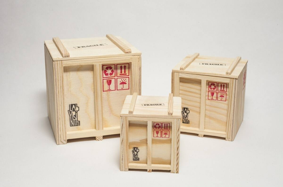 Inbox – Set Of 3 Designer Shipping Boxes