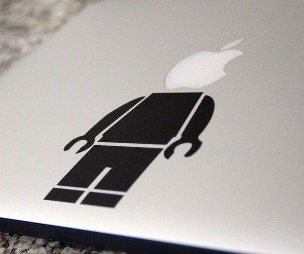 Lego Buddy Sticker for Macbook