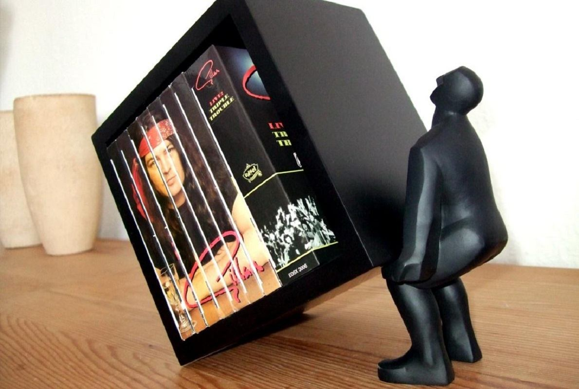 Macho Man CD Holder by Wrapables