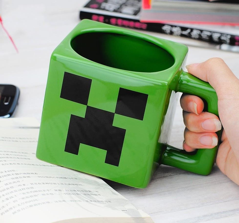 Minecraft+Creeper+Mug