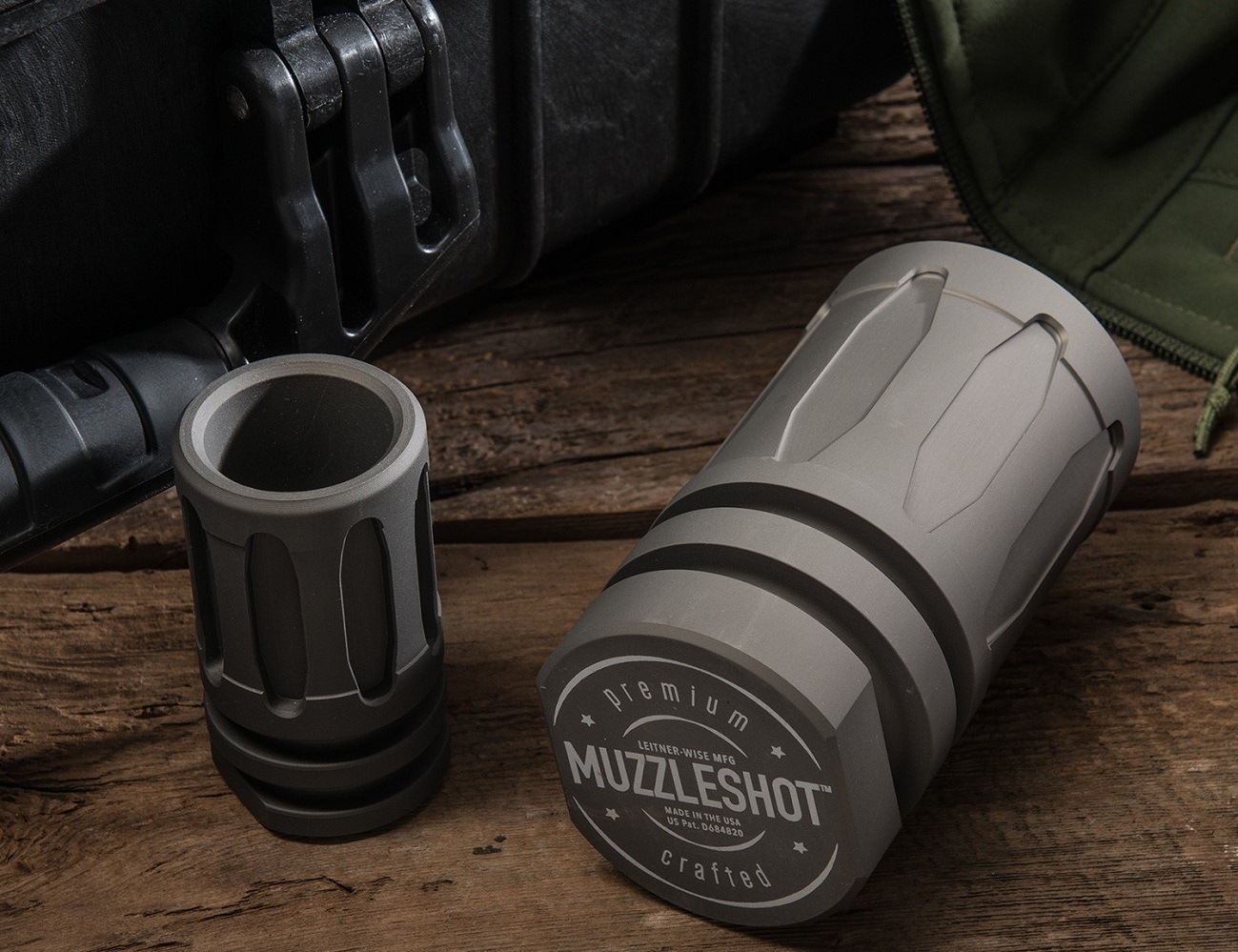 MuzzleShot – Shot Glass Styled After the Flash Hider