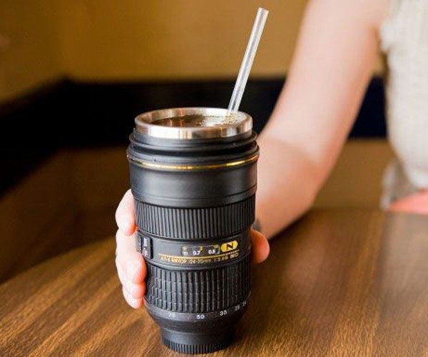 Nikon Camera Lens Coffee Tea Mug