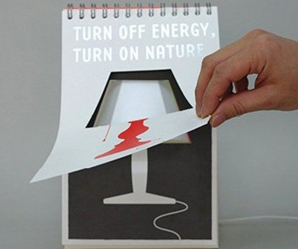 Page Lamp Poster – USB LED Table Desk Mood Light by LOCOMOLIFE