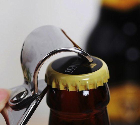 Steel Soda Tab Beer Bottle Opener
