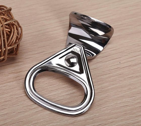 Steel Soda Tab Beer Bottle Opener