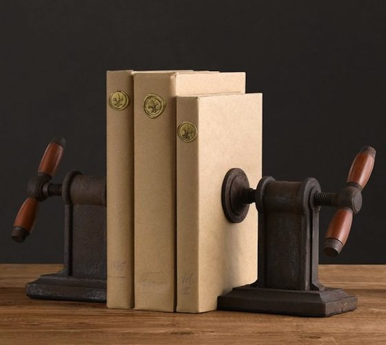 vise-bookends