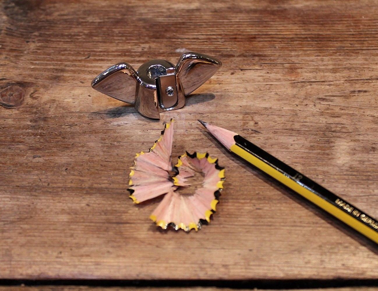 Wing Nut Design Pencil Sharpener by SUCK UK