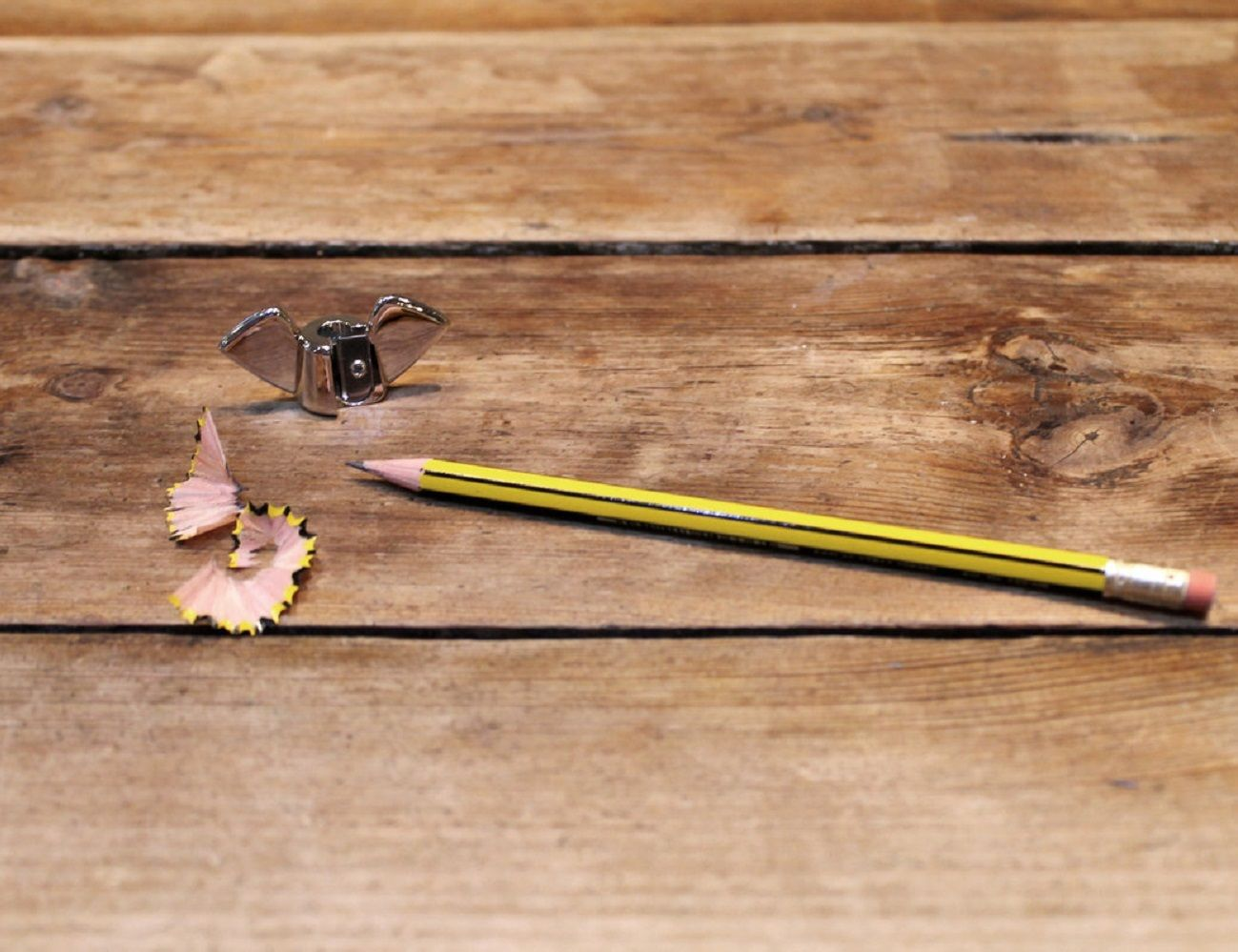 Wing Nut Design Pencil Sharpener by SUCK UK