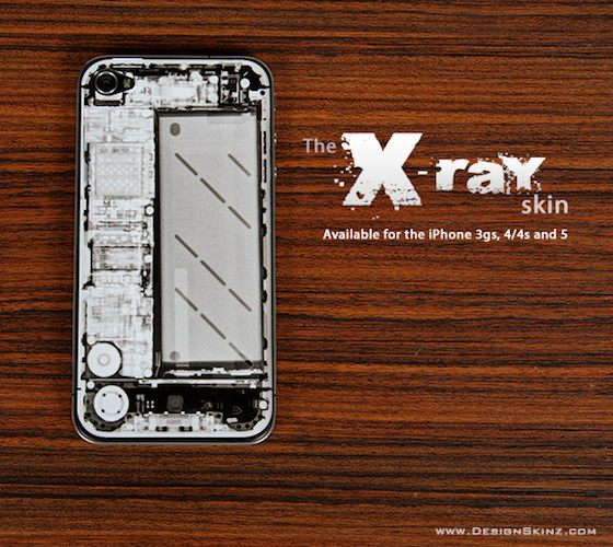 The+X-Ray+Series+IPhone+Skin