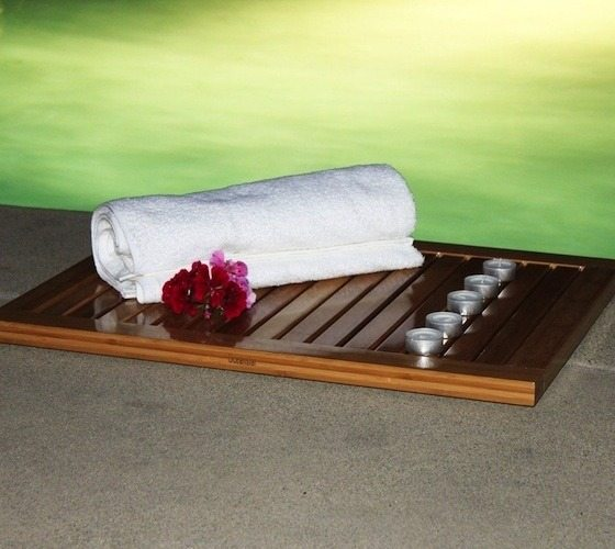 Bamboo Floor And Shower Mat By Oceanstar 187 Gadget Flow