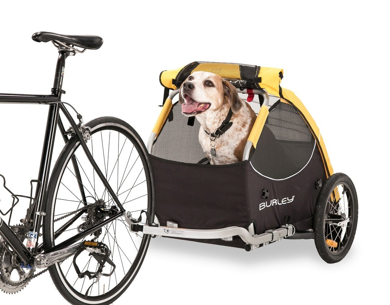 Burley+Tail+Wagon+Pet+Bike+Trailer+Stroller