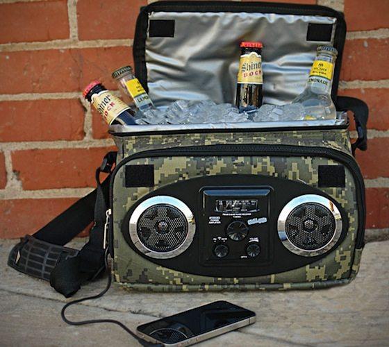 Camo+Chillin+Mobile+Music+Speakers+%26amp%3B+Cooler