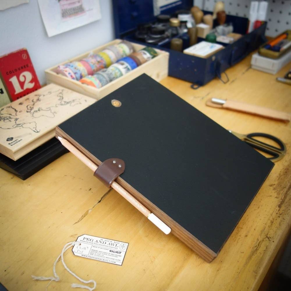 Chalk Pad by Peg and Awl