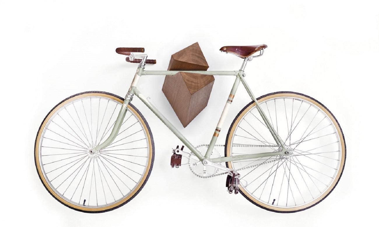 Iceberg Wooden Bike Hanger