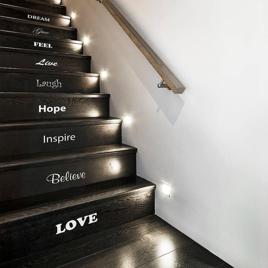 Inspirational Stair Sticker Set