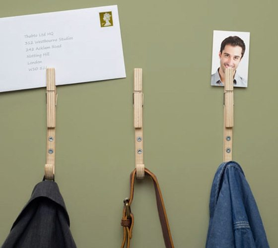 Jpegs Coat Hooks by Thabto