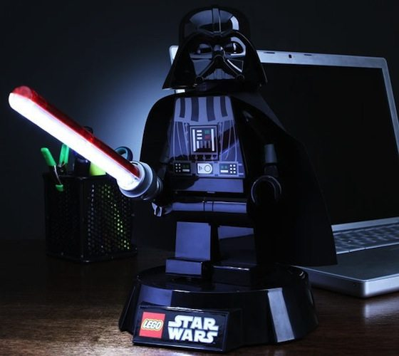 Star wars desk accessories lego lamp