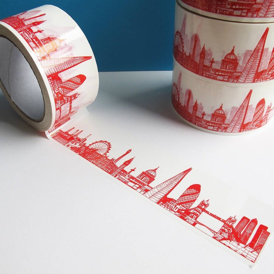 London Skyline Decorative Sticky Tap