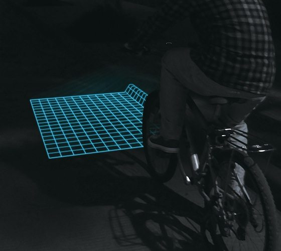 Lumigrids+While+Cycling