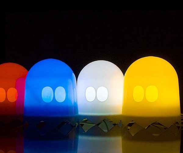 Pac-Man Multi-Color Ghost Lamp