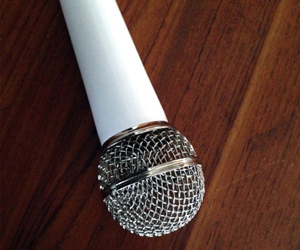 Classic Microphone Solo Light Pendant by Re-Surface