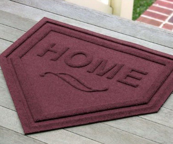 Waterhog Home Plate Mat Entry Door Mat