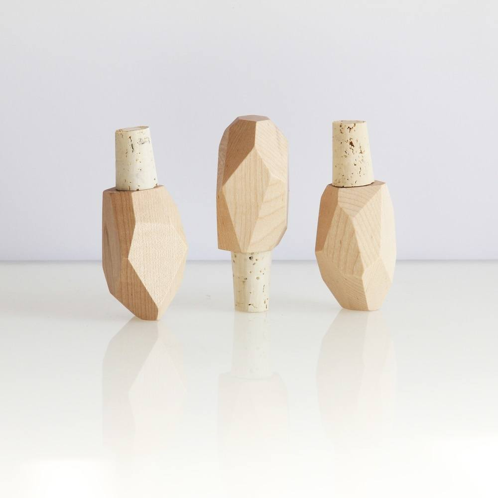 Wooden Bottle Rock Maple by Brush Factory