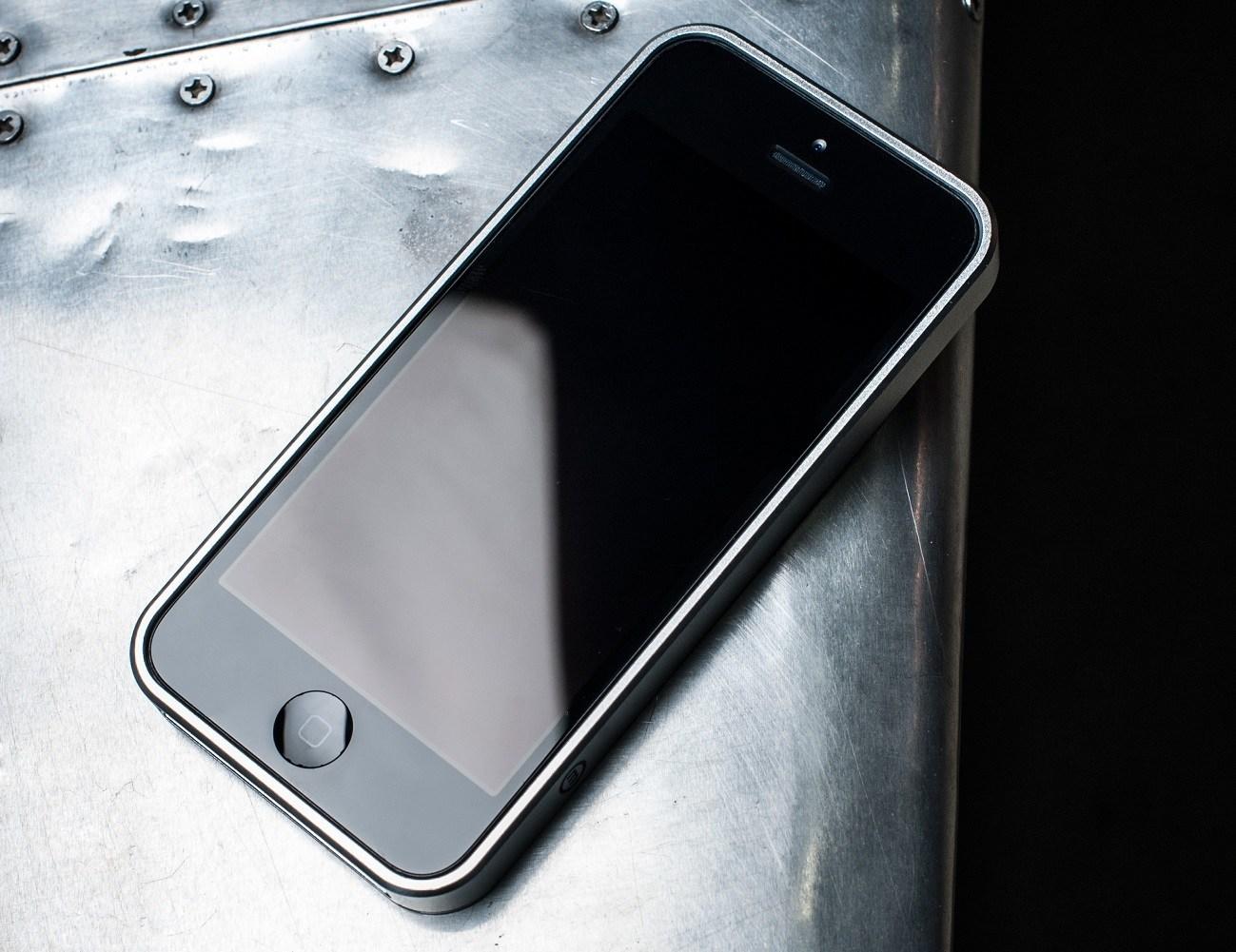 AL13 AeroSpace Aluminum Bumper for iPhone SE/5s