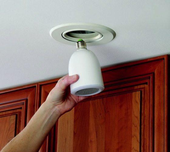 AudioBulb Wireless Speaker Light Bulb