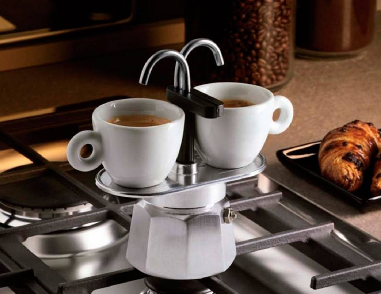 Bialetti Mini Express 2-Cup Stovetop Percolator