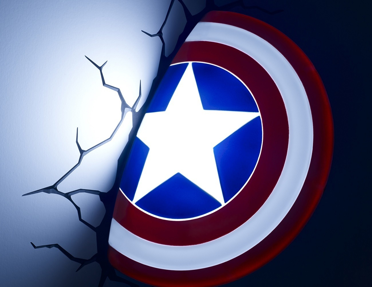 Captain America 3D Nightlight