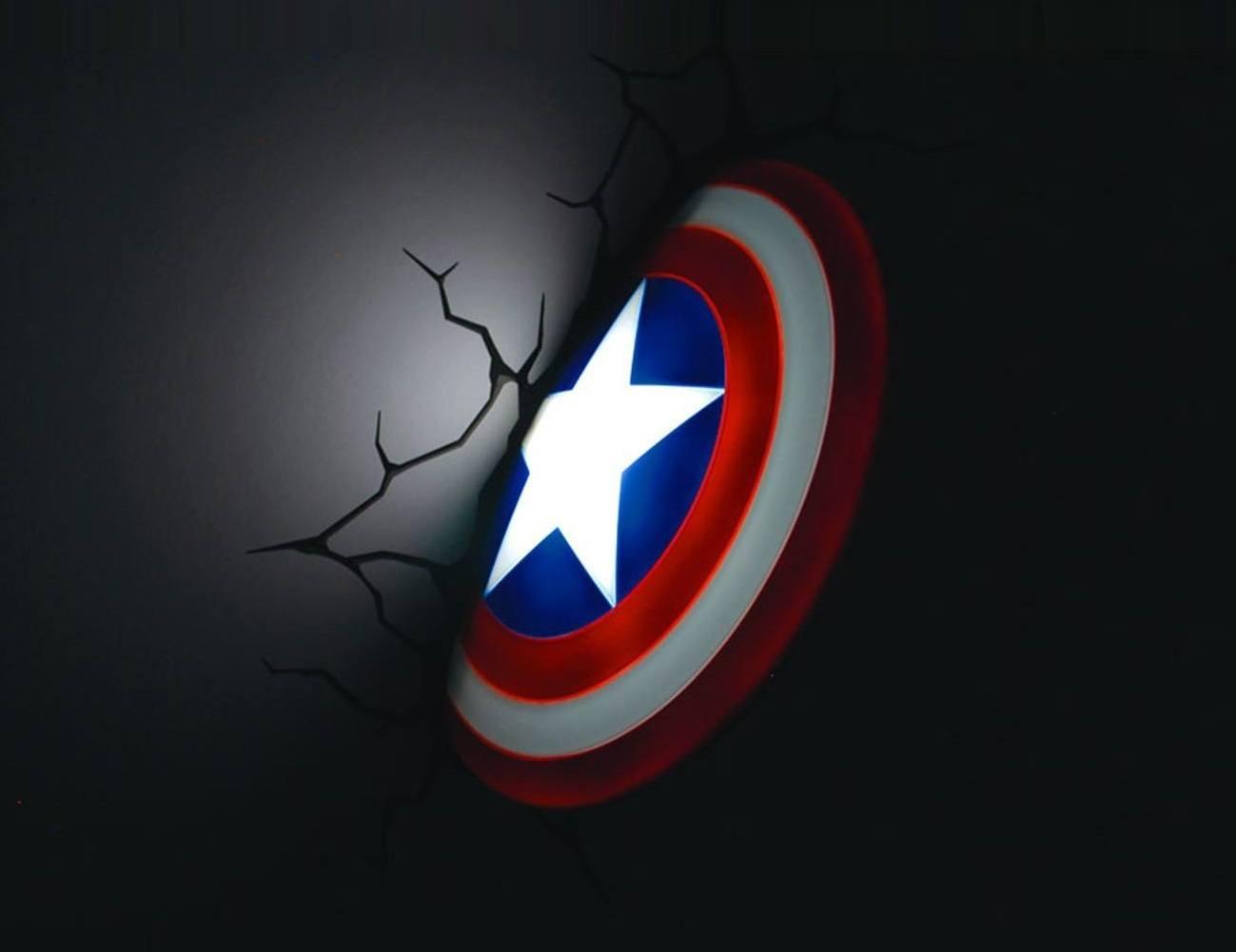 Captain America 3D Nightlight