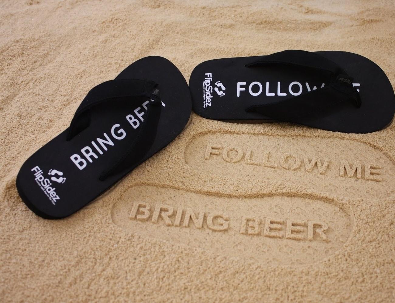 2fd7ec77a4dfc9 Follow Me Bring Beer Flip Flops » Gadget Flow