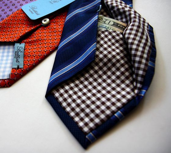 Hidden Pocket Tie by Battisti Napoli