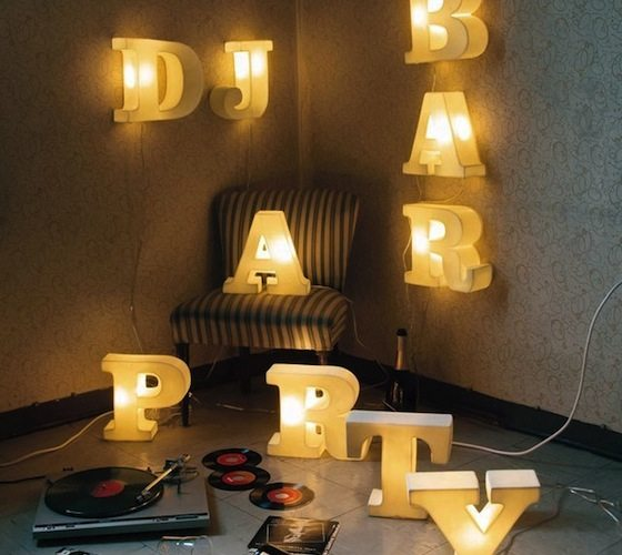 Lightype Letters By Seletti