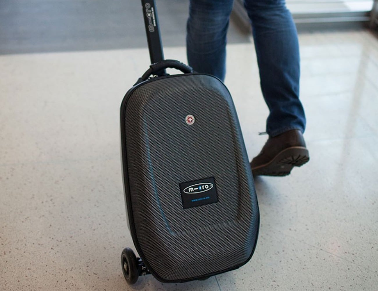 Micro Luggage Scooter » Gadget Flow