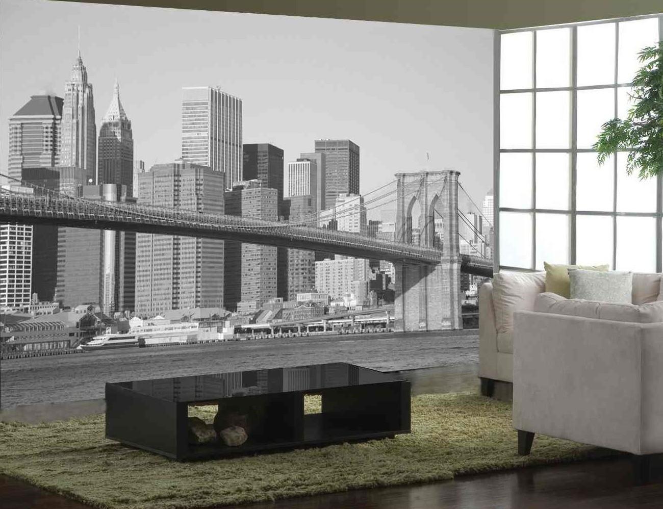 New York Wall Mural » Gadget Flow