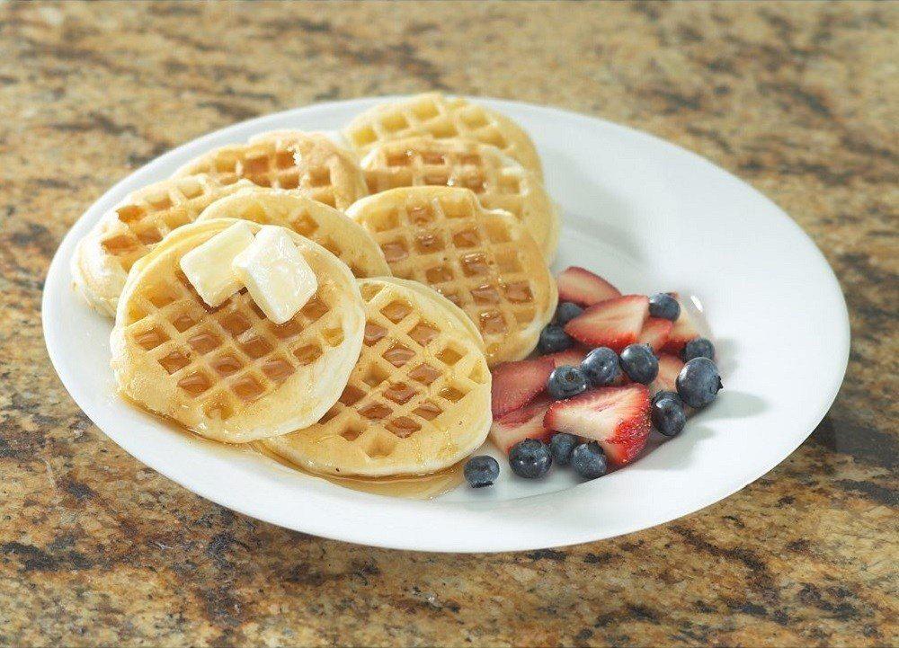Nordic Ware Waffled Pancake Pan