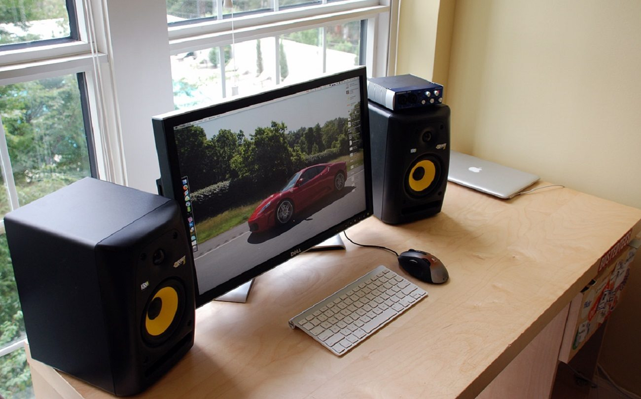 RP6G2 Powered Studio Monitor