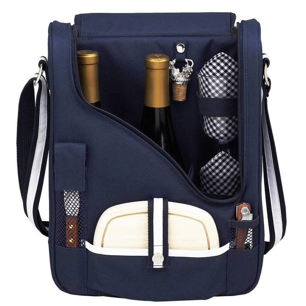 Wine+And+Cheese+Cooler+Picnic+Backpack