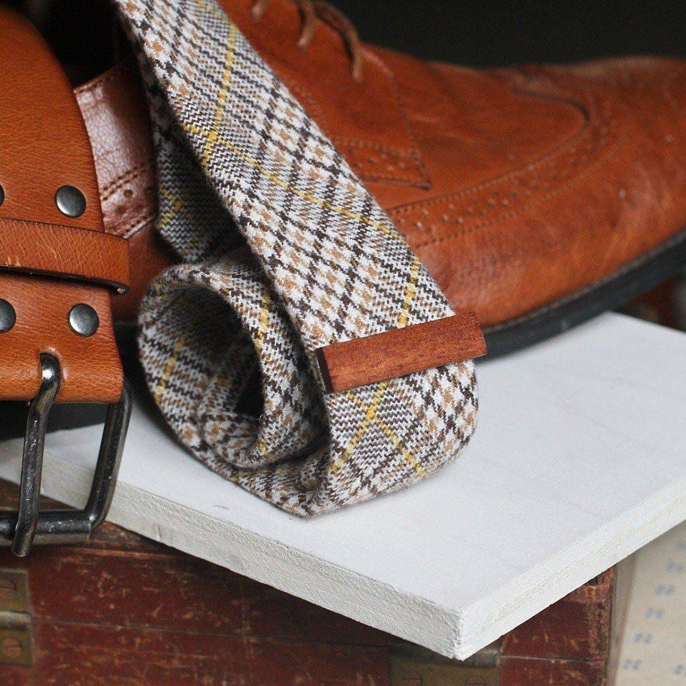 Wooden Magnetic Tie Bar