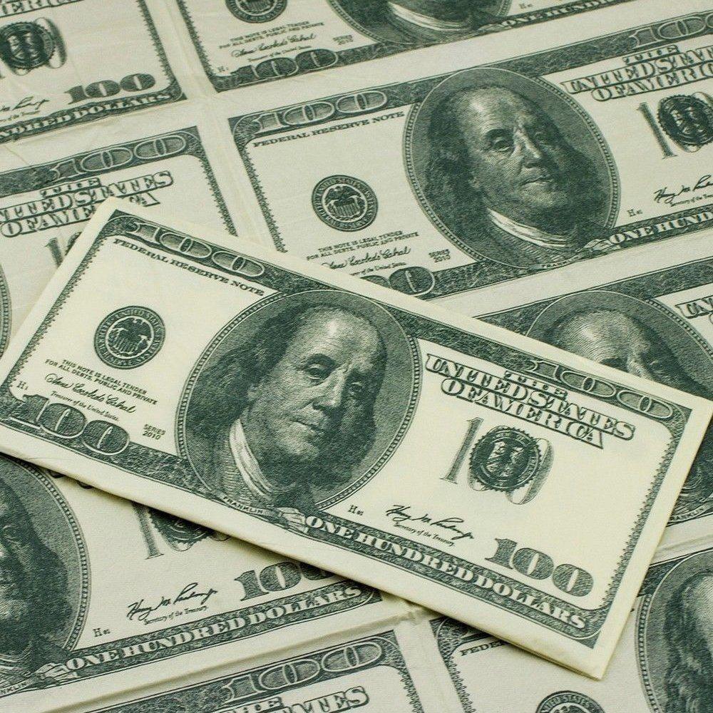 100 dollar bill napkins gadget flow