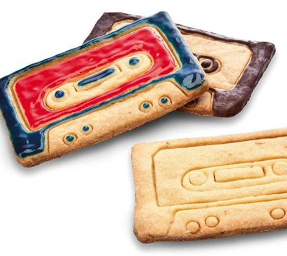 Cassette Cookie Cutters
