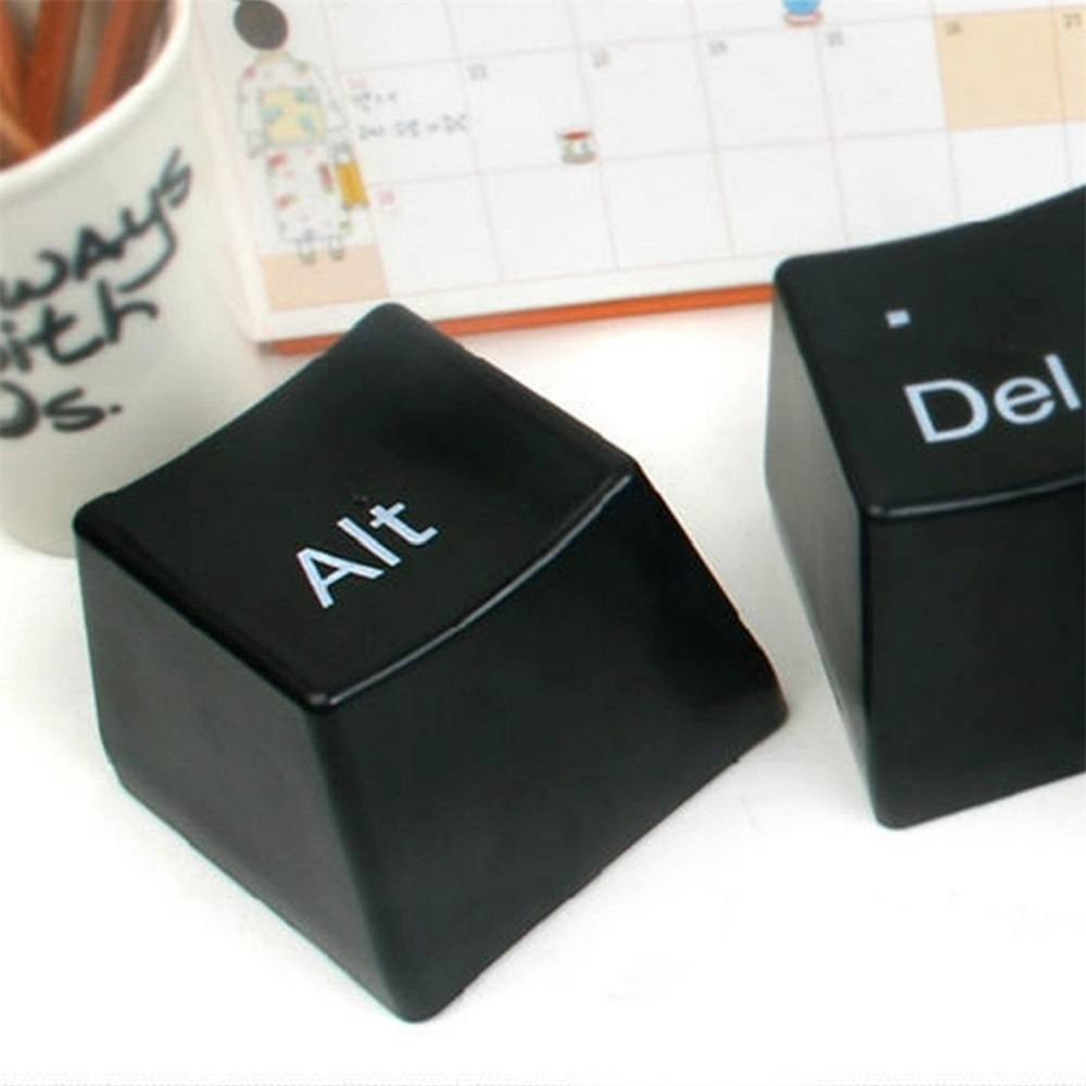 Ctrl Alt Del Keyboard Coffee Cup White Set Gadget Flow