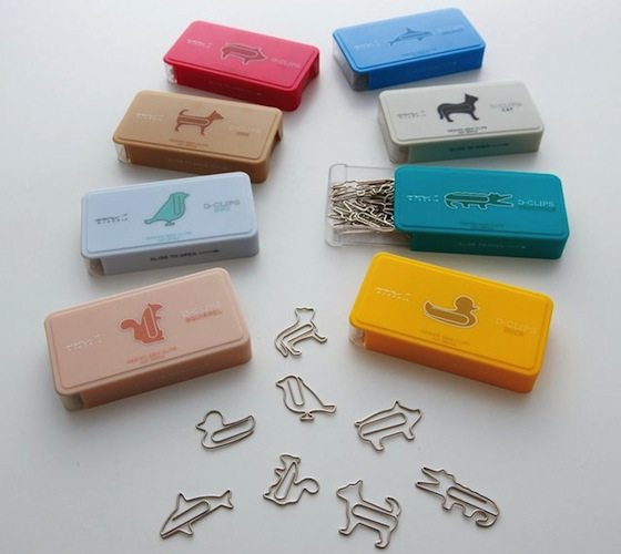 D-Clips Animal Shaped Paper Clips