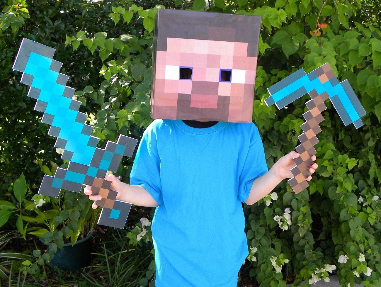 Minecraft+Masks