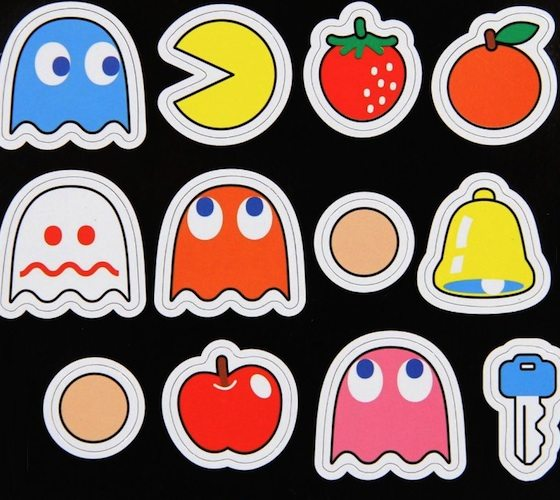 Paladone Pac-Man Magnets